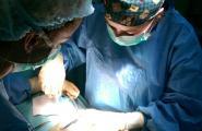 In operatie